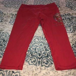 Pants - Red Cambro leggings